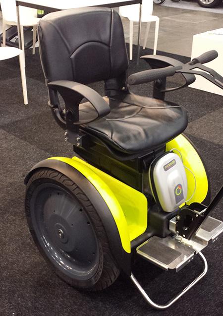 2-wielige rolstoel